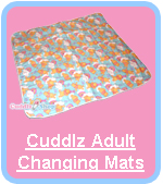 Cuddlz Adult Sized ABDL Nappy Diaper Changing Mats