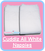 Cuddlz All White Nappies Diapers For Adults