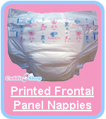 Cuddlz Printed Nappies Diapers For Adults