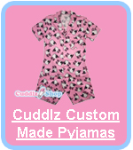 Cuddlz Custom Made ABDL Adult Pyjamas