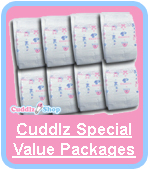 Cuddlz Special Value Nappy Diaper Packages