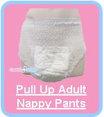 Cuddlz Pull Up Disposable Nappies Diapers For Adults